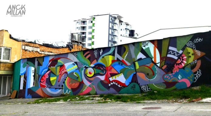 The abstract art movement of the 20th century lives on thanks to street artists like Anck Millan