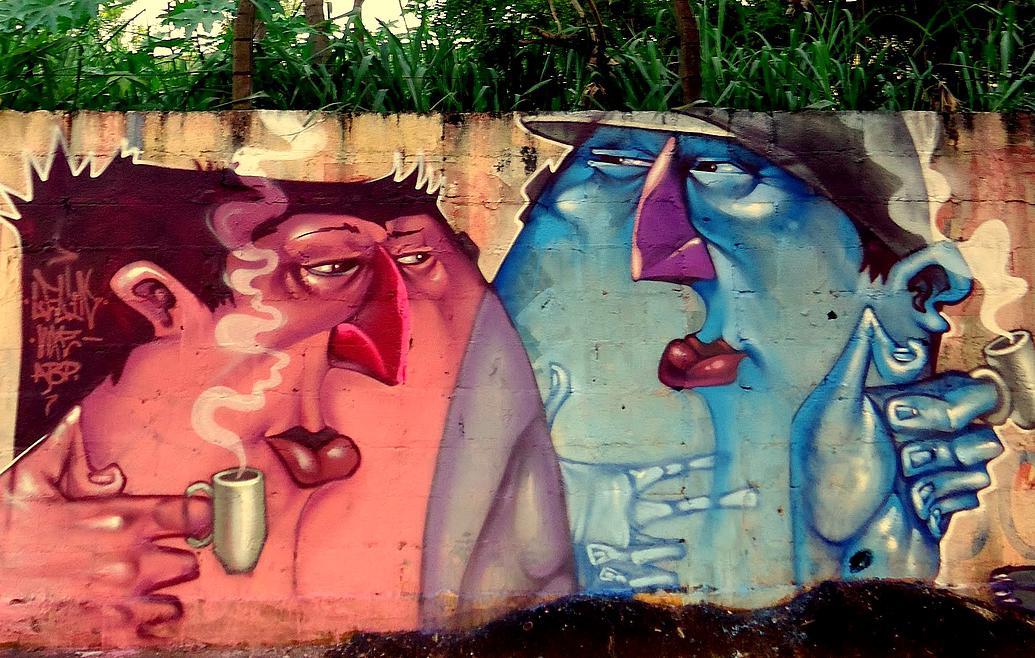 Lelin Alves' Graffiti Art puts Personalities into Perspective