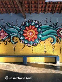 Mandala Mad Artist José Flávio Audi Paints The Streets With
